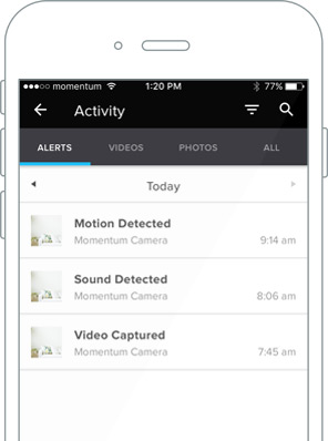 Momentum App allows Two-Way Communication